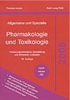 Cover von Karow/Lang-Roth: Allgemeine und Spezielle Pharmakologie